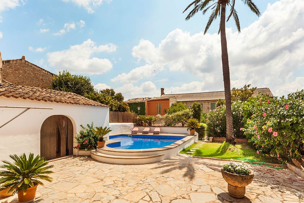 Https://property.abc  Mallorca.com/property/Living Blue Mallorca/00597/Great Townhouse With Pool  Patio And Garden In Alar%C3%B3   AbcMallorca Property Portal